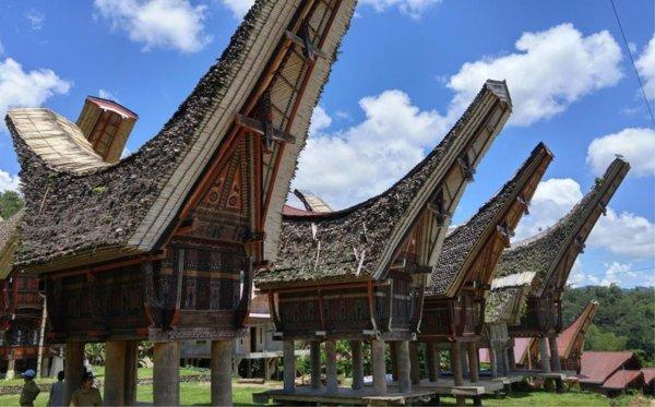 Rumah Adat Suku Toraja