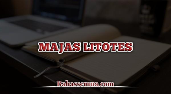 Contoh Majas Litotes