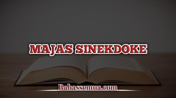 Contoh Majas Sinekdoke